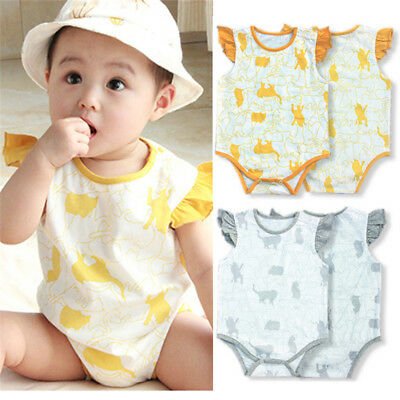 Baby Romper Climbing Clothes Coveralls Cartoon Silhouette Jumpsuit Home Service