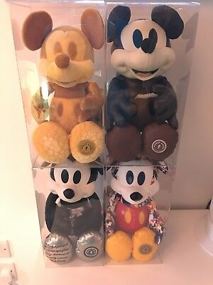 6x Box Display or Store Mickey Mouse Memories Plush Jan Feb March April May June