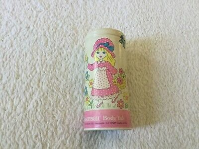 Vintage 70s talcum powder, Tinkerbell Body Talc for girls, small canister