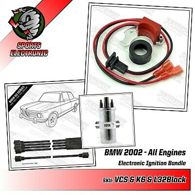 Classic BMW performance Pack with Black HT leads 8mm and Viper Dry Coil BMW 2002