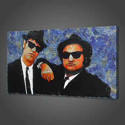 The Blues Brothers Canvas Picture Print Wall Hanging Art Home Decor Free P&p