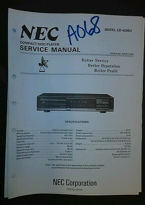 Nec manual array nec cd 420bu service manual repair schematic cd player compact disc rh picclick com fandeluxe Image collections