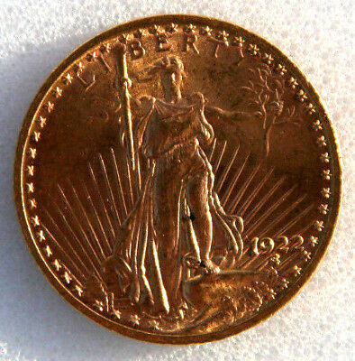 20 Dollar 1922 Amerika St. Gaudens Gold Double Eagle Goldmünze