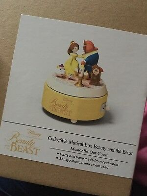Disney Musical Box Beauty And The Beast