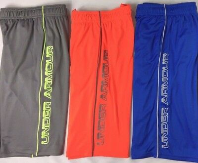 Boy's Youth Under Armour Heatgear UPF 30 Loose Fit Athletic Shorts
