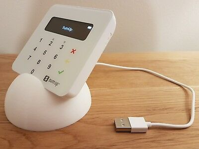 Stand for SumUp Air card reader - with slot for usb cable