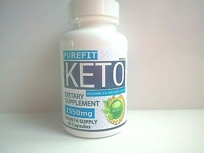 PUREFIT KETO 2 ADVANCED WEIGHT LOSS (60 Capsules Max Strength 1550mg) NEW SEALED