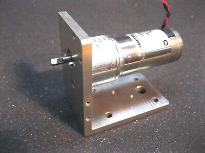 Robotics Kit - Pittman GM8224S028 24 Volt DC Gear Motor 24.8 RPM w Mount Bracket