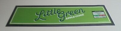 Little Green Apple Cider Beer Mat - New with out packaging Rubber Backed