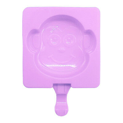Silicone Easy Cream Mini Ice Cream Bar Mold Household Monkey Ice Pop Mould