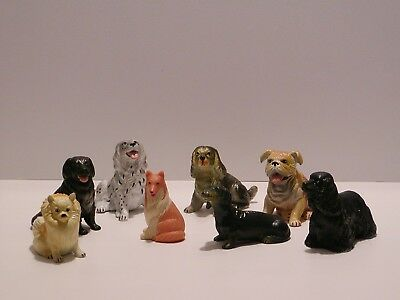 LOT 7 New Ray Novelty rubber dogs