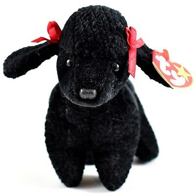 1998 TY Beanie Baby Original GiGi Black Puppy Dog Retired Beanbag Plush Toy d942e0d49e6