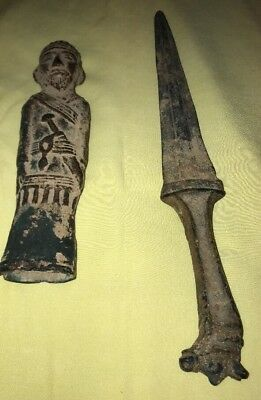 antique bronze dagger