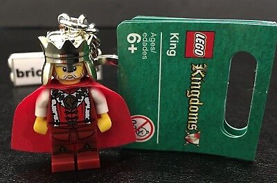 LEGO 3923 Castle Knight/'s Kingdom King Leo Minifigure Key Chain from 2000 NEW