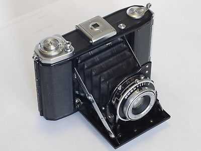 Zeiss Ikon Ikonta 521/16 6x6 120 film folding camera Novar-Anastigmat 75mm f/4.5