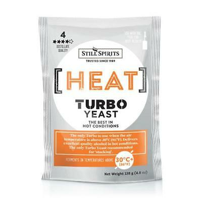 STILL SPIRITS HEAT TURBO YEAST  x 10 PACKETS