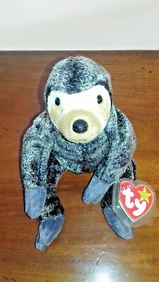 727fff4d478 TY BEANIE BABY. Slowpoke the Sloth. Tag errors. Mint Condition ...