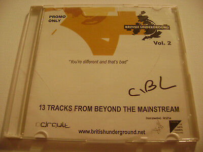 British Underground, Vol. 2 - You're Different and That's Bad (Promo CD)