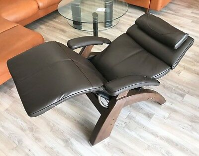 Espresso Premium Leather HUMAN TOUCH Perfect Chair Universal Back Cover PC-610