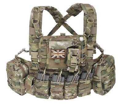 Warrior Assault System 901 Multicam Chest Rig Army BW G36 Combat Vest Weste