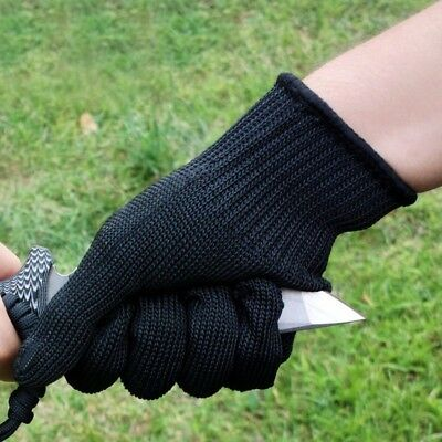 Stainless Steel Wire Gloves Safety Work Anti-Slash Stab Resistance Cut Proof New