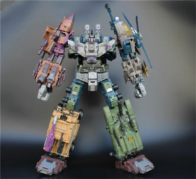 Jinbao oversized Warbotron Bruticus Decepticons Figure Toys Large gift toy box