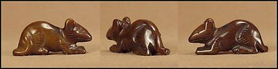 CARVED FETISH Animal  MOUSE  BEAD   #317TAL