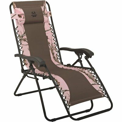 RealTree Zero Gravity Relaxer Convertible Lounge Chair 250-LB Weight Limit