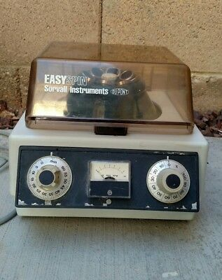 Easy Spin Sorvall Instruments Dupont Centrifuge Machine