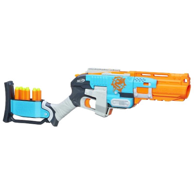 Nerf Zombie Strike Sledgefire Blaster Gun, Fun Play, Kids Shoot Ammo, NEW