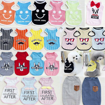 Pet Vest Puppy Various Shirt Apparel Hot Dress Small Dog Cat Pet Clothes Summer