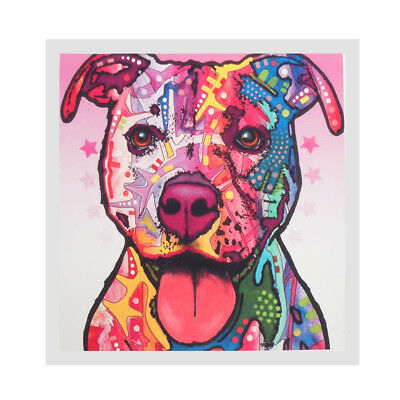 1 Panel Modern Abstract Wall Art Painting Oil Print Painting on Canvas Dog