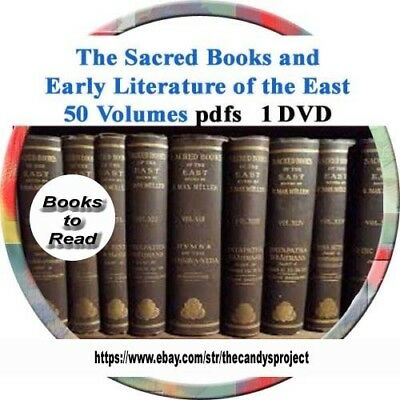 The Sacred Books Of The East Pdf Dvd 50 Volumes 5 75 Picclick