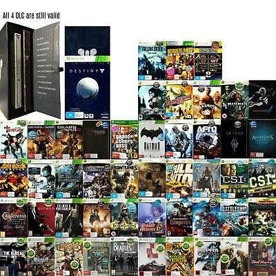 💙XBOX 360 Games Rated M & OVER ●ҩ GAME TITLES STARTING WITH A to K ҩ● 23/05/18