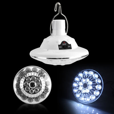 White 22LED Outdoor/Indoor Solar Lamp Hooking Camp Garden Light Remote Control