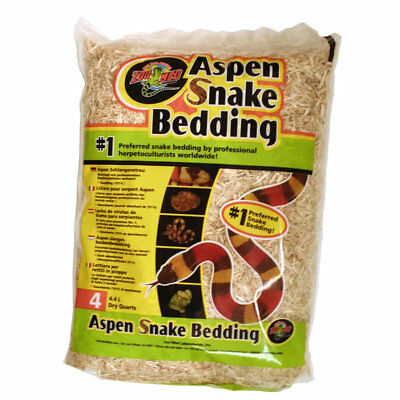 Zoo Med Aspen Snake Bedding Substrate Chippings