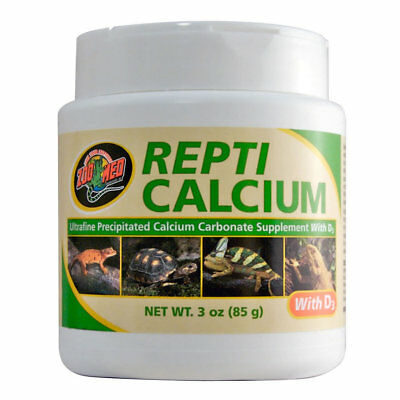 Zoo Med Repti Calcium WITH / WITHOUT D3 85g Reptile Vitamins