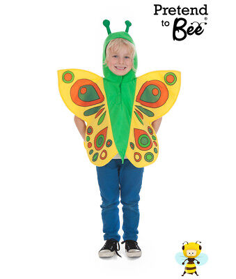 Kids Childrens Girls Boys Butterfly Minibeast Bug Ball Costume Outfit Age 3-7