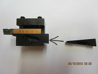 Hardinge Lathe Wedges ---Tool Holders-Front or Rear Tool Post