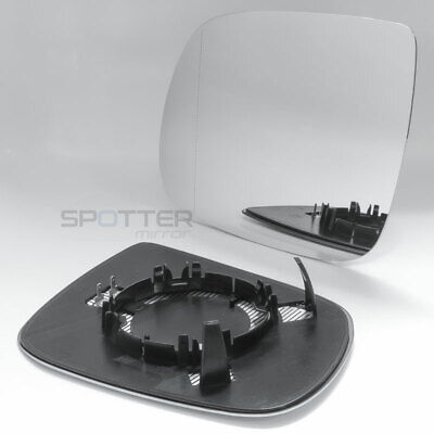 Mirror Glass for 2009-2017 Audi Q5 | 2010-2015 Audi Q7 Driver Left Side Heated