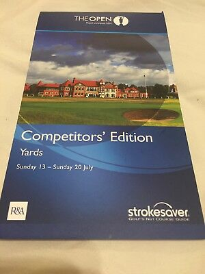 Golf Course Planner The Open Royal Liverpool Strokesaver Competitor's Edition
