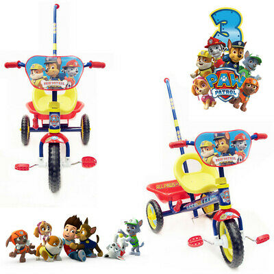 New Paw Patrol Dog Puppy Bike Trike Bicycle Tricycle 3 Wheel Car Kid Ride On Toy