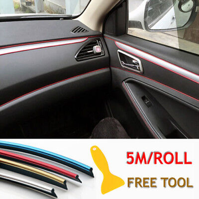 5M AUTO Styling strisce bordo decalcomania INTERNO PORTA ADESIVO