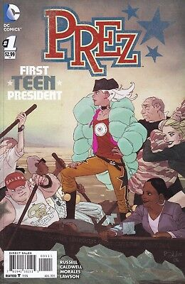Prez, Catwoman: Election Night Special (complete set of 7 comics) DC 2015