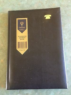 Debden Black Address Book