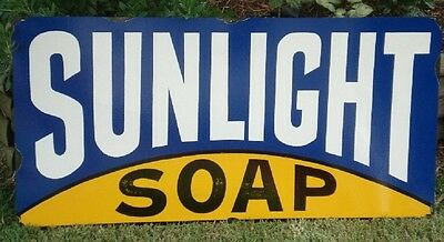 Sunlight Soap Enamel Sign 900Mm X 450Mm (Made To Order) #03