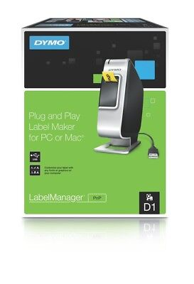 Dymo  Labelmanager Plug N Play PNP Labeller  Easy Install  USB Connect  SD915400