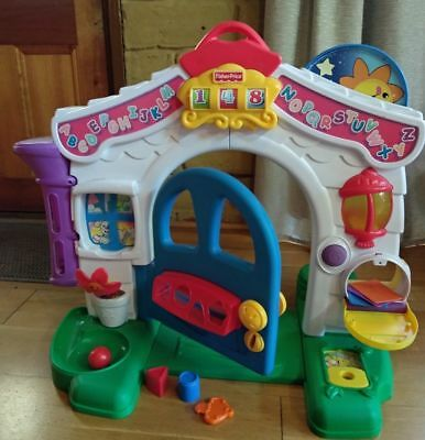 Fisher Price Laugh & Learn - Toddler Interactive Early Learning House *Musical*