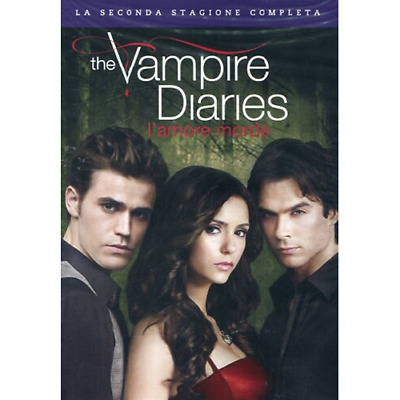 Vampire Diaries (The) - Stagione 02 (5 Dvd)  [Dvd Nuovo]