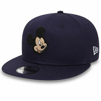 80581092  Casquette New Era – 9Fifty Disney Patch Mickey Mouse bleu 2018  Enfant f2ed6b0f197